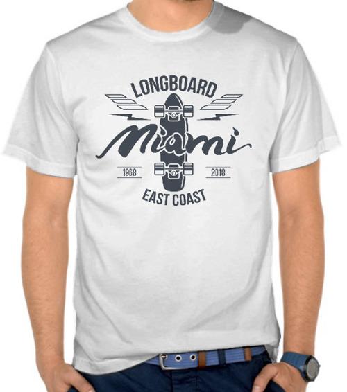 harga Kaos Longboard East Coast (SBFSJ) Satubaju.com