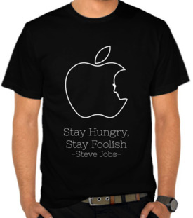 Apple - Stay Hungry Stay Foolish