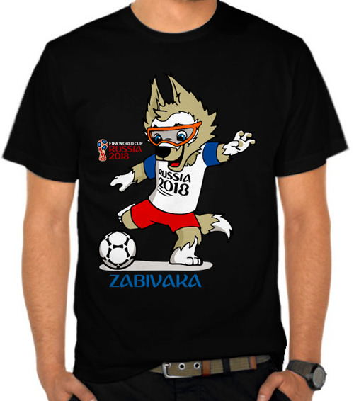 World Cup 2018 Zabivaka 2