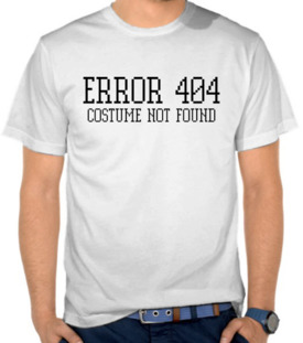 Error 404 - Costume Not Found