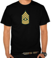 Army - Sergeant Major Label