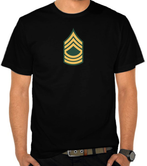 Army - Master Sergeant Label