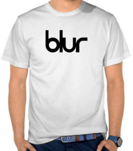 Band - Blur logo black