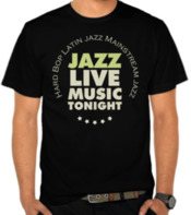 Jazz Live Music - White