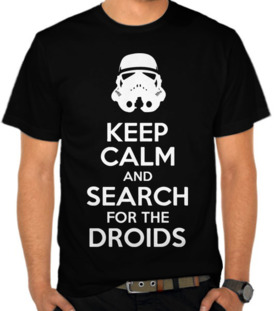 Keep Calm And Search For Droid