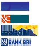 payment BCA MANDIRI, BNI, BRI